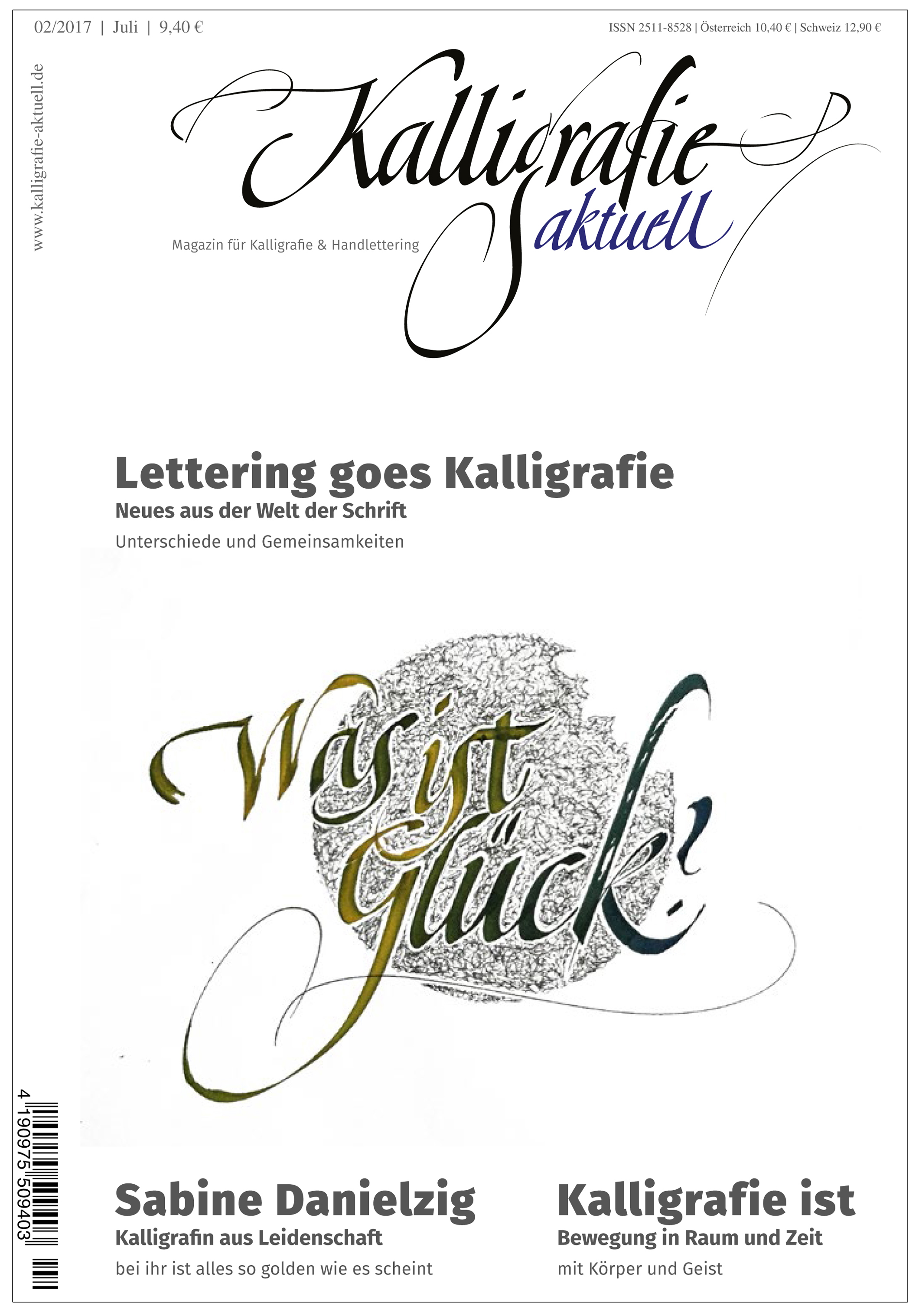 2. Ausgabe Kalligrafie aktuell